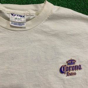 Vintage Shirts - Vintage Early 2000's Corona Beer T Shirt